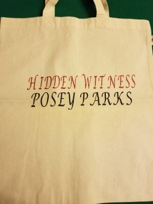 hidden witness tote bag posey